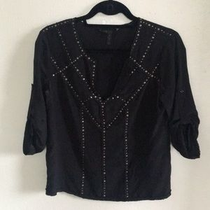 BCGG MAXAZRIA military blouse